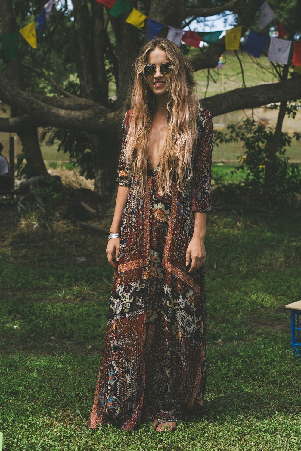 Bohochic fashion draws on bohemian, new age, and folk craft ideas.