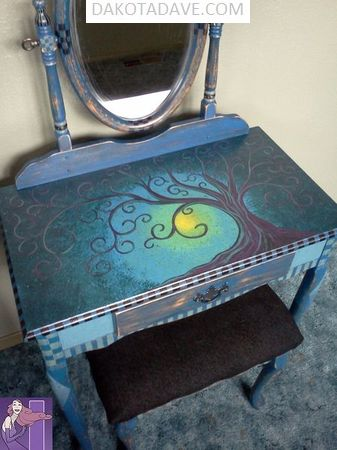 2018 PAINTED FURNITURE 14  Image of 2018 PAINTED FURNITURE 14