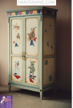 2018 PAINTED FURNITURE 23  Image of 2018 PAINTED FURNITURE 23