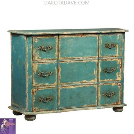 Dakotadave.com Home Decor vintage furniture painted furniture