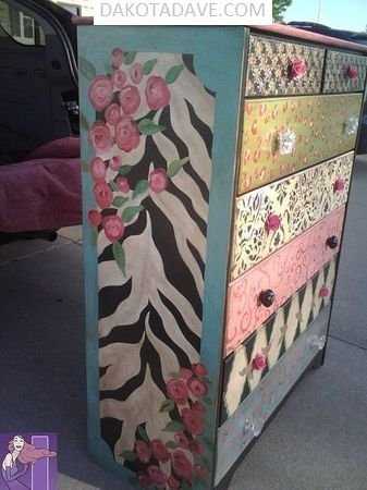 2018 PAINTED FURNITURE 27  Image of 2018 PAINTED FURNITURE 27